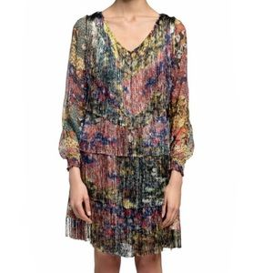Missoni Fringe Multicolored Dress